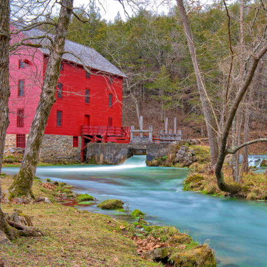 Alley Spring and Mill. Photograph by Gary Adams.