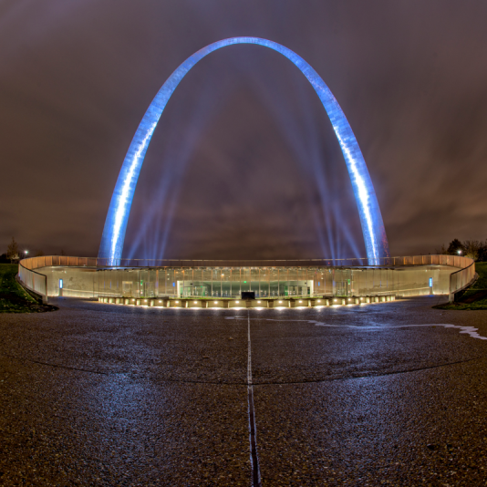Gateway to the West . Photograph by Gary Adams. **Selected for the My Missouri 2021 exhibition**