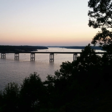The Dam at Sunset. Photograph by Mary Ellen Lohmann. **Selected for the My Missouri 2021 exhibition**