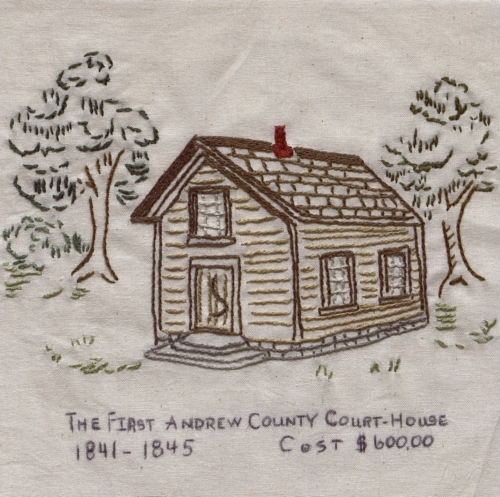 Andrew County - Quilted by Pat S. Kerns.