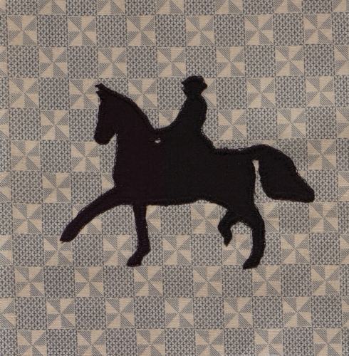 Saddle Horse Capital of the World - Quilted by Susan Jayne Kleinsorge.