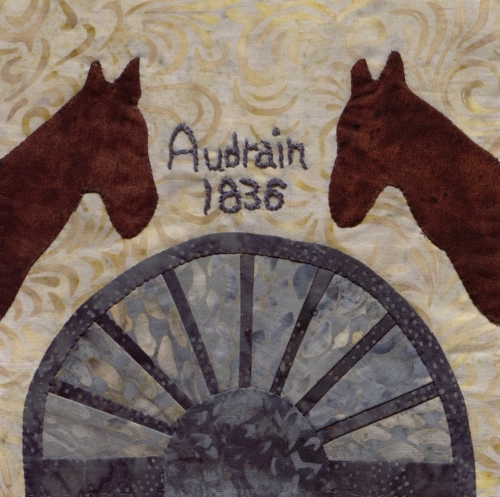 Audrain County: International Saddlebred Hall of Fame - Quilted by Lou Mongler.
