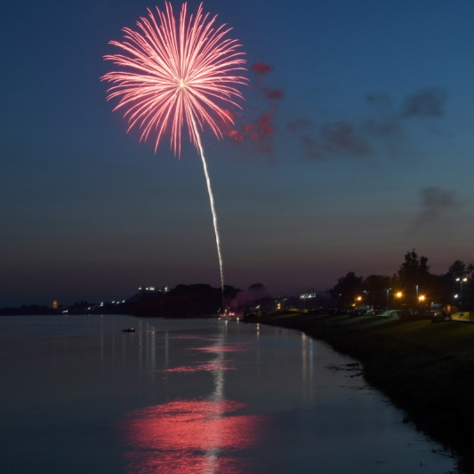 Fireworks. Photograph by Jill Bock. **Selected for the My Missouri 2021 exhibition**