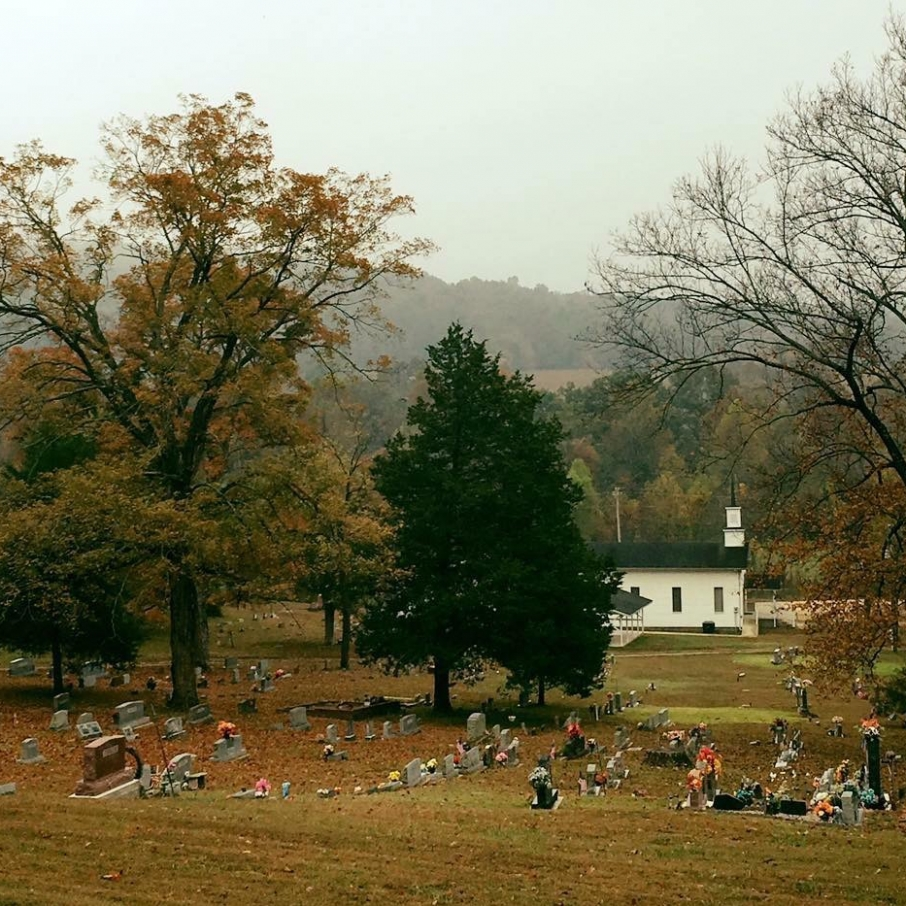 The Old Country Church. Photograph by David Bollinger.