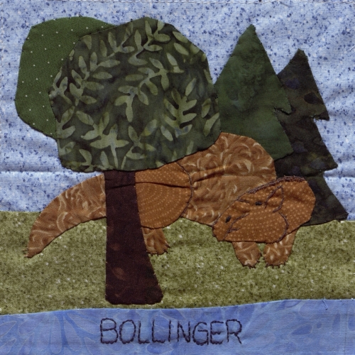 Bollinger County - Created by Linda Louise Whitener. **Selected for the Missouri Bicentennial Quilt**
