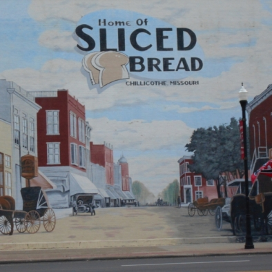 Home Town of Sliced Bread. Photograph by Darla Brown.