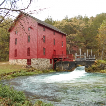 Mill at Alley Springs. Photograph by David Brown. **Selected for the My Missouri 2021 exhibition**