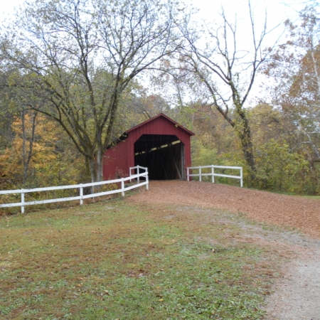Sandy Creek Covered Bridge. Photograph by David Brown. **Selected for the My Missouri 2021 exhibition**