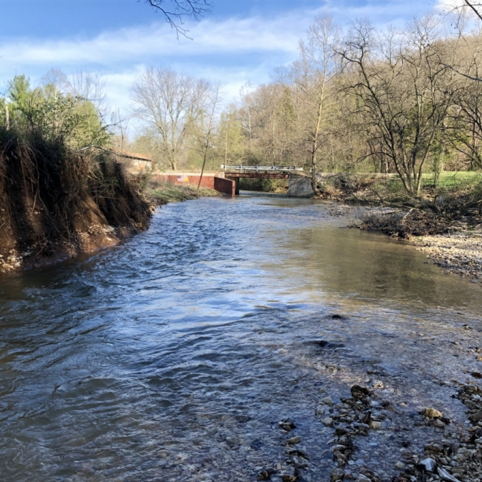 Creek in Jefferson County. Photograph by Leslie Burgan.