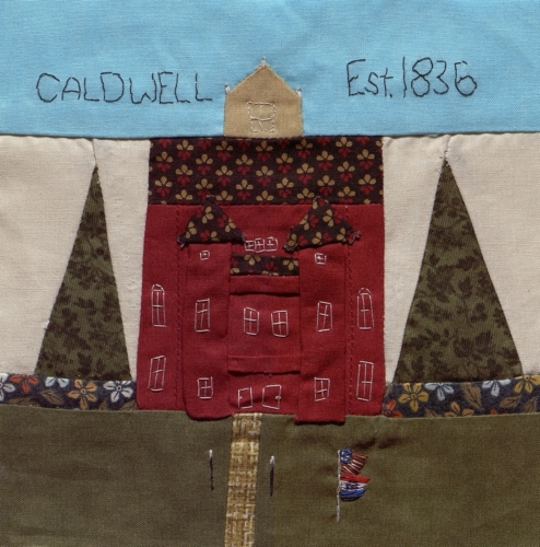 Courthouse - Created by Theresa Jeanette Dalton. **Selected for the Missouri Bicentennial Quilt**