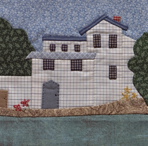 Ozark Mill - Created by Juanita Marie Bridges. **Selected for the Missouri Bicentennial Quilt**