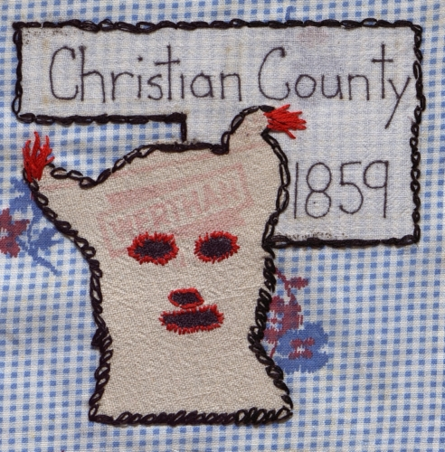 Christian County Baldknobber - Created by Shannon Mawhiney, Dianna Price, and Linda Myers.
