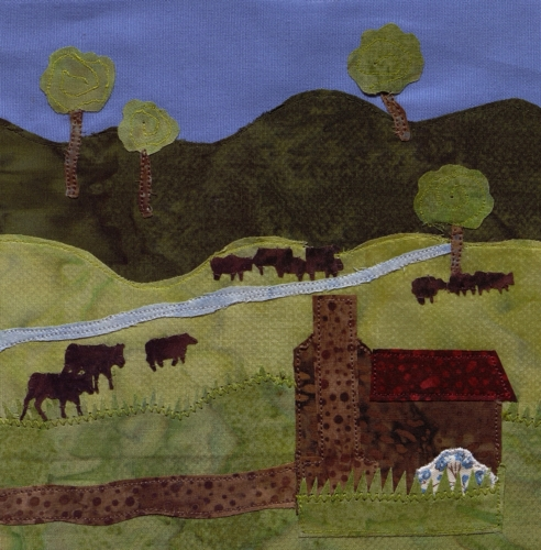 Rural Life in Clinton County - Created by Debbie Helton. **Selected for the Missouri Bicentennial Quilt**
