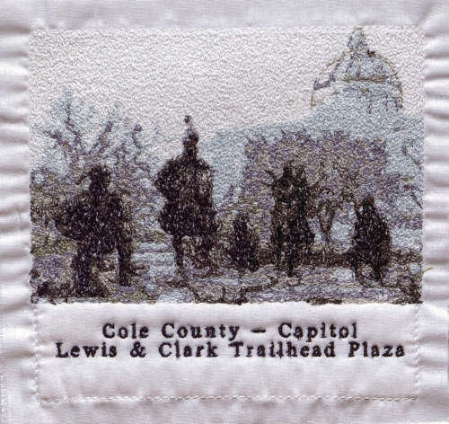 Cole County - Created by Janice K. Manchester. **Selected for the Missouri Bicentennial Quilt**