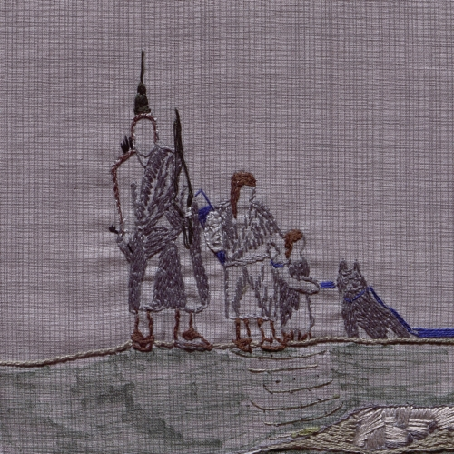 Osage Trail Legacy - Created by Patricia Cookson. **Selected for the Missouri Bicentennial Quilt**