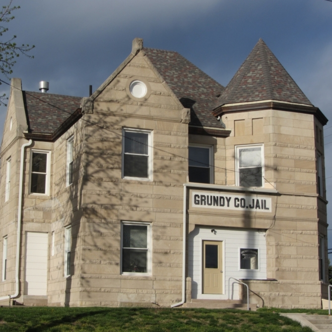 Grundy County Jail. Photograph by Linda Crooks.