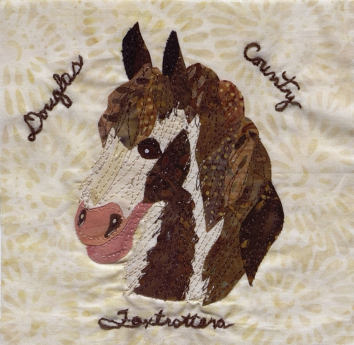 Dad's Duke - Created by Sheri K. Tredway. **Selected for the Missouri Bicentennial Quilt**