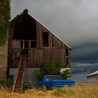 Storm Over a 100 Year Old Barn