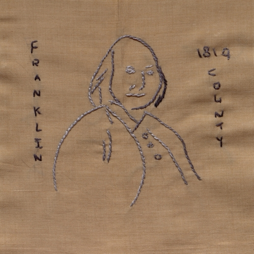 Ben Franklin - Created by Jenny Wallach. **Selected for the Missouri Bicentennial Quilt**