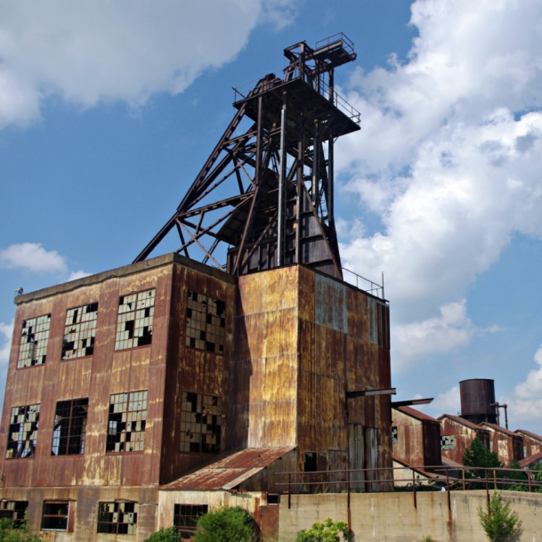 Abandoned Lead Mine. Photograph by Karen Gallaher. **Selected for the My Missouri 2021 exhibition**