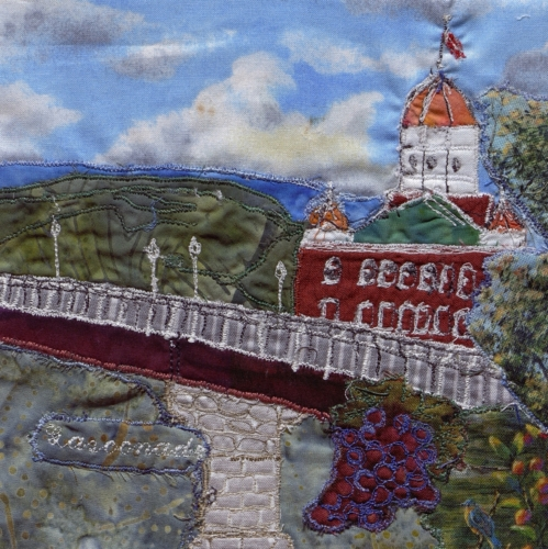 Wine Country, Missouri - Created by Jaya Parker. **Selected for the Missouri Bicentennial Quilt**