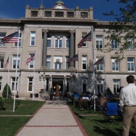 Monroe County Courthouse. Photograph by Robin Gregg.