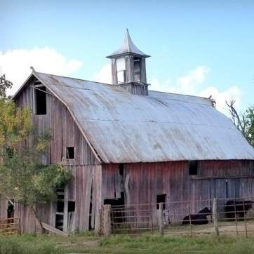 Cupola Barn. Photograph by Larry Hacker.