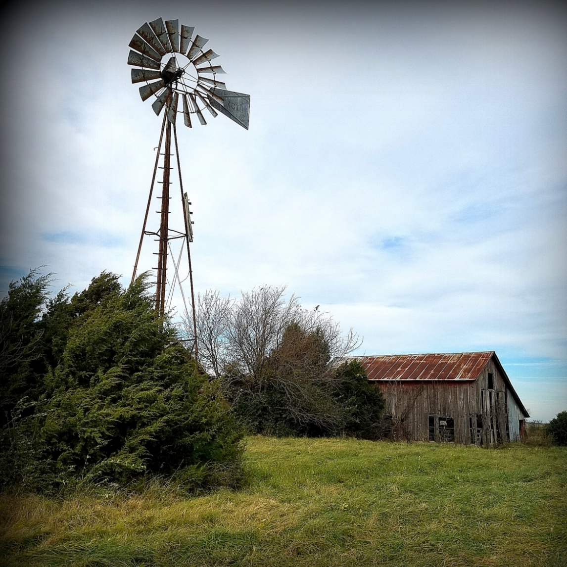 The Windmill. Photograph by Larry Hacker.