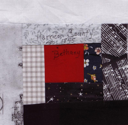 Courthouse Steps - Created by Cheryl A. Klingensmith and her students. **Selected for the Missouri Bicentennial Quilt**