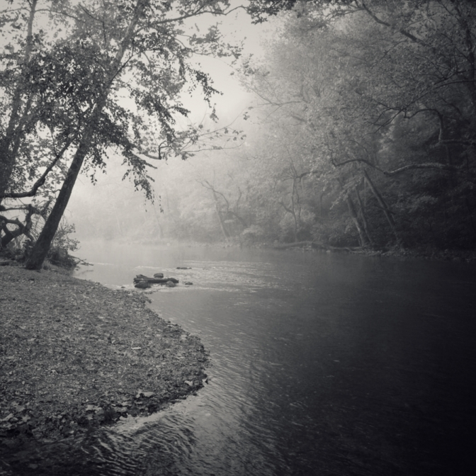 George Haubein-Shoal Creek Morning Fog