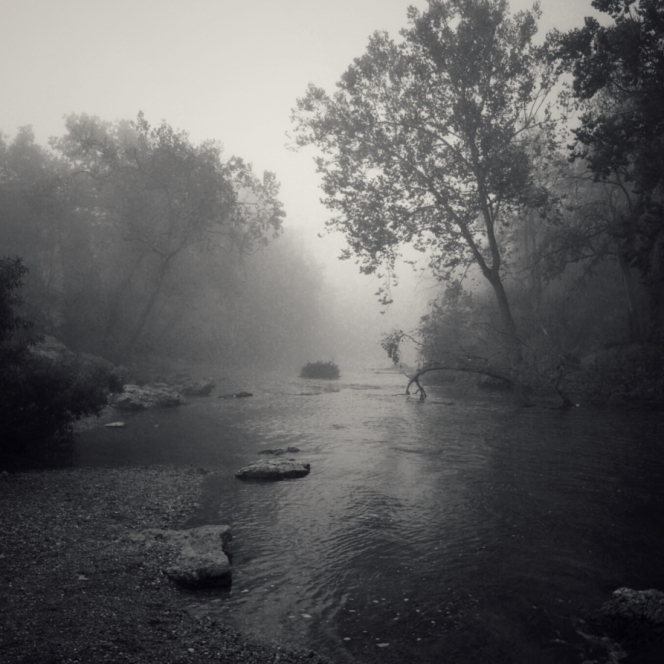 Shoal Creek Morning. Photograph by George Haubein. **Selected for the My Missouri 2021 exhibition**