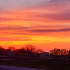 Sunset In Bates County. Photograph by Reena Hicks.
