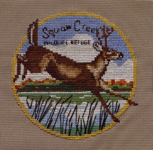Squaw Creek - Created by Cynthia Kenny. **Selected for the Missouri Bicentennial Quilt**