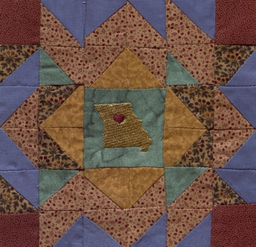 Mother of Counties - Quilted by Dorothy Jean Ayres.