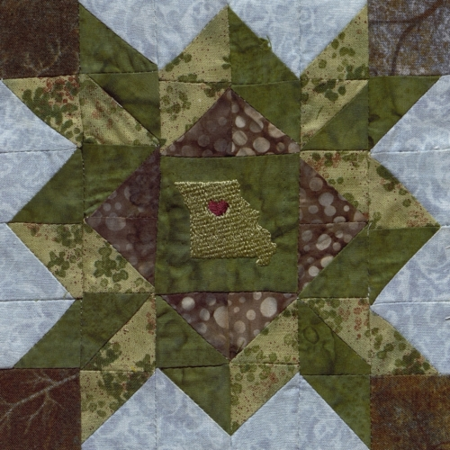 HoCo Mother's Choice - Quilted by Linda Oestreicher Lembke.