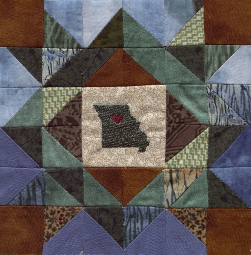 Mother's Choice - Quilted by Josephine Ann Rohr. **Selected for the Missouri Bicentennial Quilt**