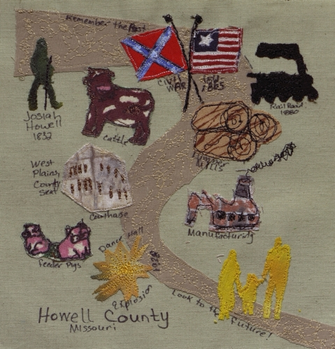 Historical Howell County - Created by Dr. Cleo Fawn Cockrum.