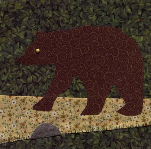 Brown Bear and a Missouri Rock - Created by Jan Nielsen.
