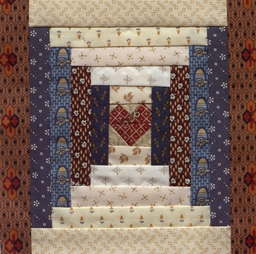 Heart of the Ozarks - Quilted by Connie Workman. **Selected for the Missouri Bicentennial Quilt**