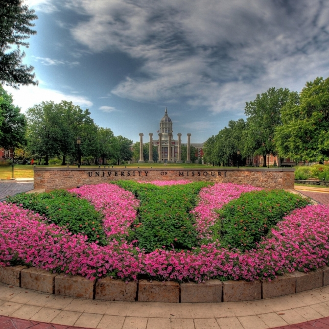 Mizzou. Photograph by Randy Hughes. **Selected for the My Missouri 2021 exhibition**