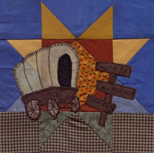 Three Trails - Created by Vicki Lynne Borer. **Selected for the Missouri Bicentennial Quilt**
