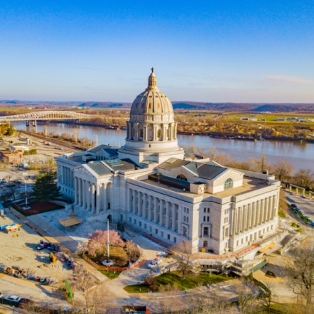 Capitol Improvements. Photograph by Steve Jett. **Selected for the My Missouri 2021 exhibition**