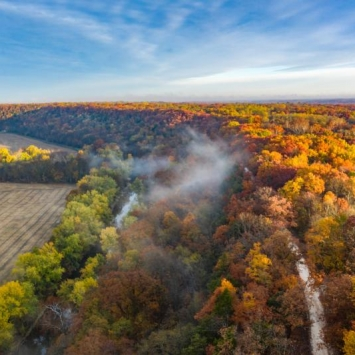 Cuivre River State Park Fall Sunrise
