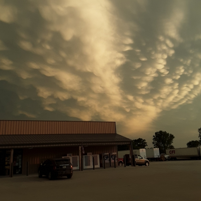 Storm Is Coming. Photograph by Jennifer Justham.