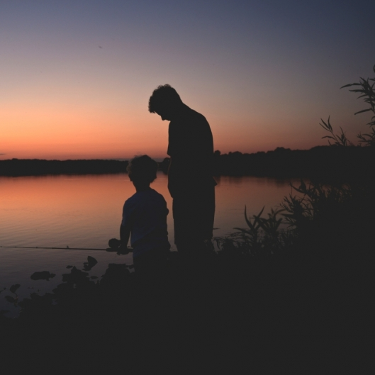 Family Fishing. Photograph by Terri Kelly. **Selected for the My Missouri 2021 exhibition**
