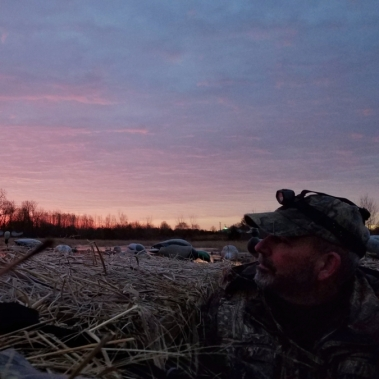 Sunrise In The Pit. Photograph by Julianne Kline.