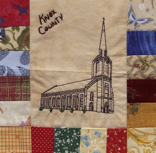 Founded in Faith - Quilted by Carolyn Morgret. **Selected for the Missouri Bicentennial Quilt**