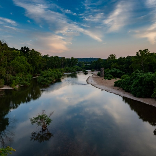 James River. Photograph by David Krisher. **Selected for the My Missouri 2021 exhibition**