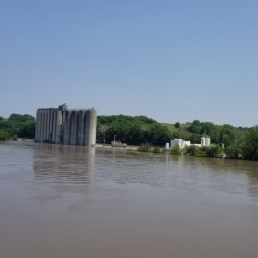 May 2019 Floods. Photograph by Dean Langner.