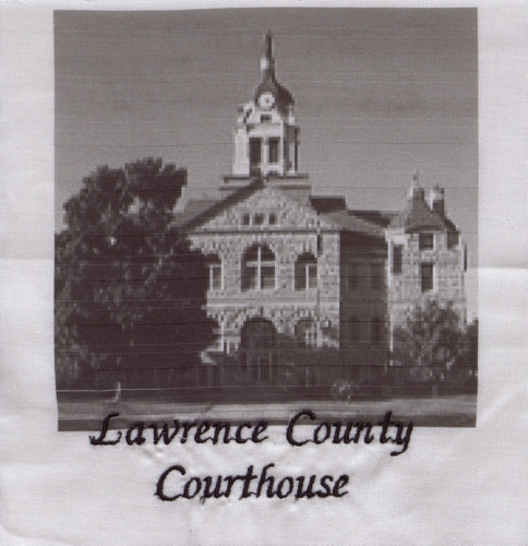 Courthouse - Created by Carla Wood.